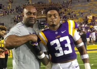 Former UK star George Adams will be with his son, Jamal, in Philadelphia Thursday night for the NFL Draft.