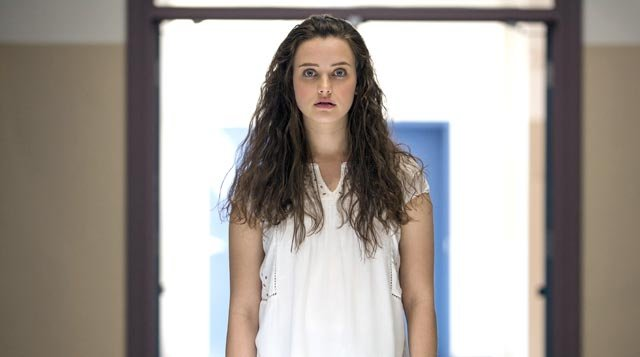Newcomer Katherine Langford plays the role of Hannah, a young woman who takes her own life. Source: Netflix