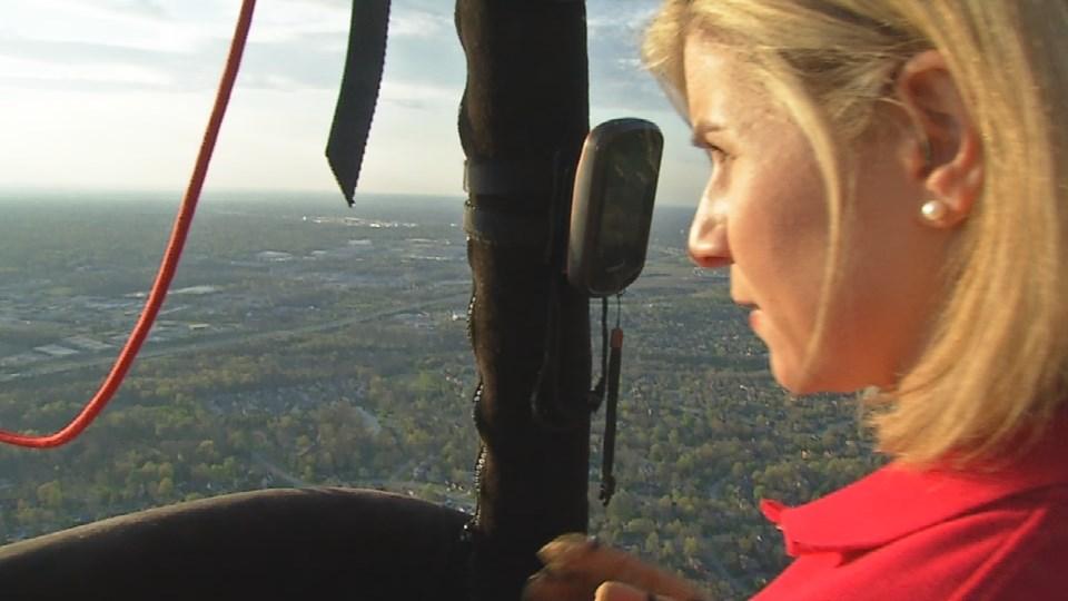 GINA ON THE JOB: Hot Air Balloon Pilot