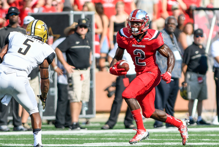 Former WKU and PRP receiver Taywan Taylor will begin his NFL career with the Tennessee Titans. (WKU photo.)