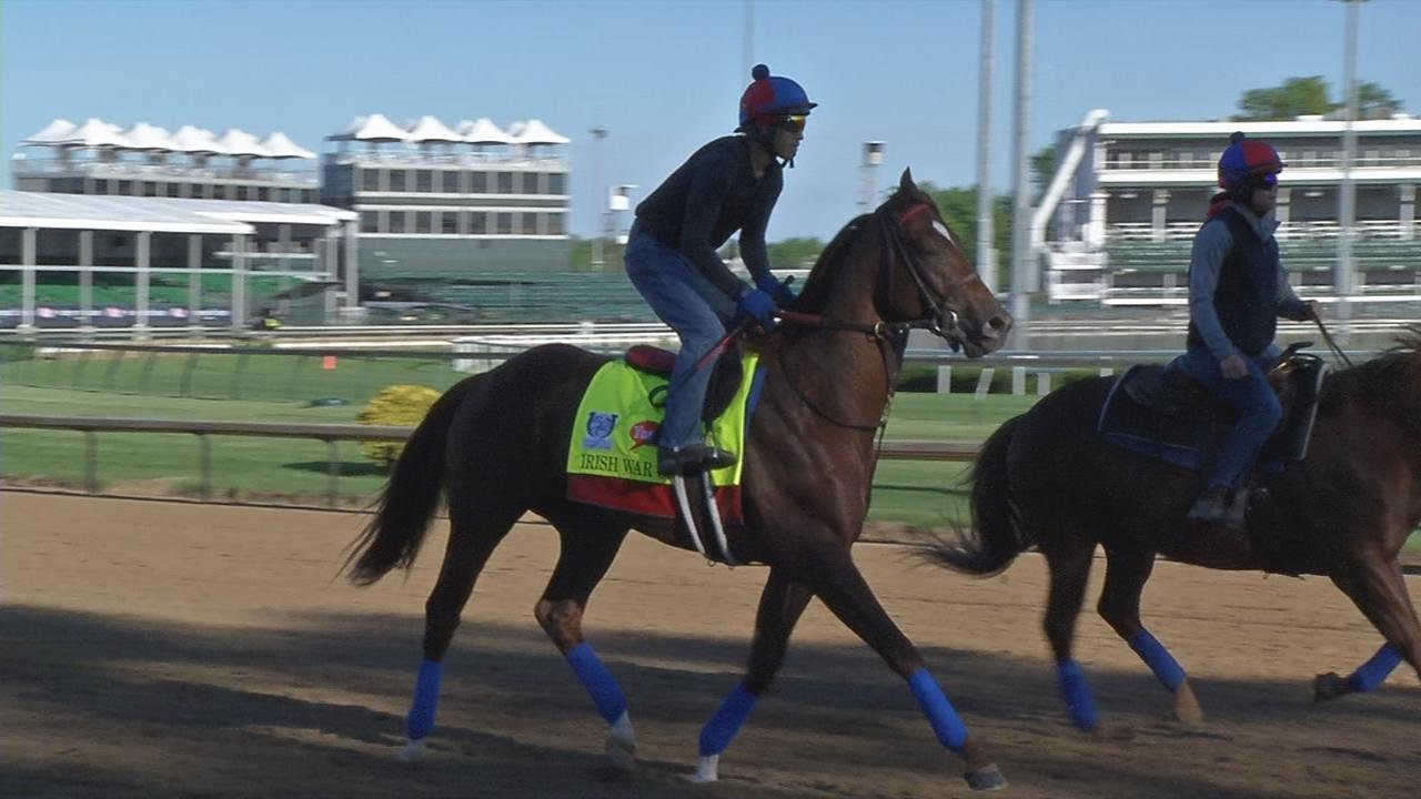 Kentucky Derby lacks dominant runner, chance of early rain