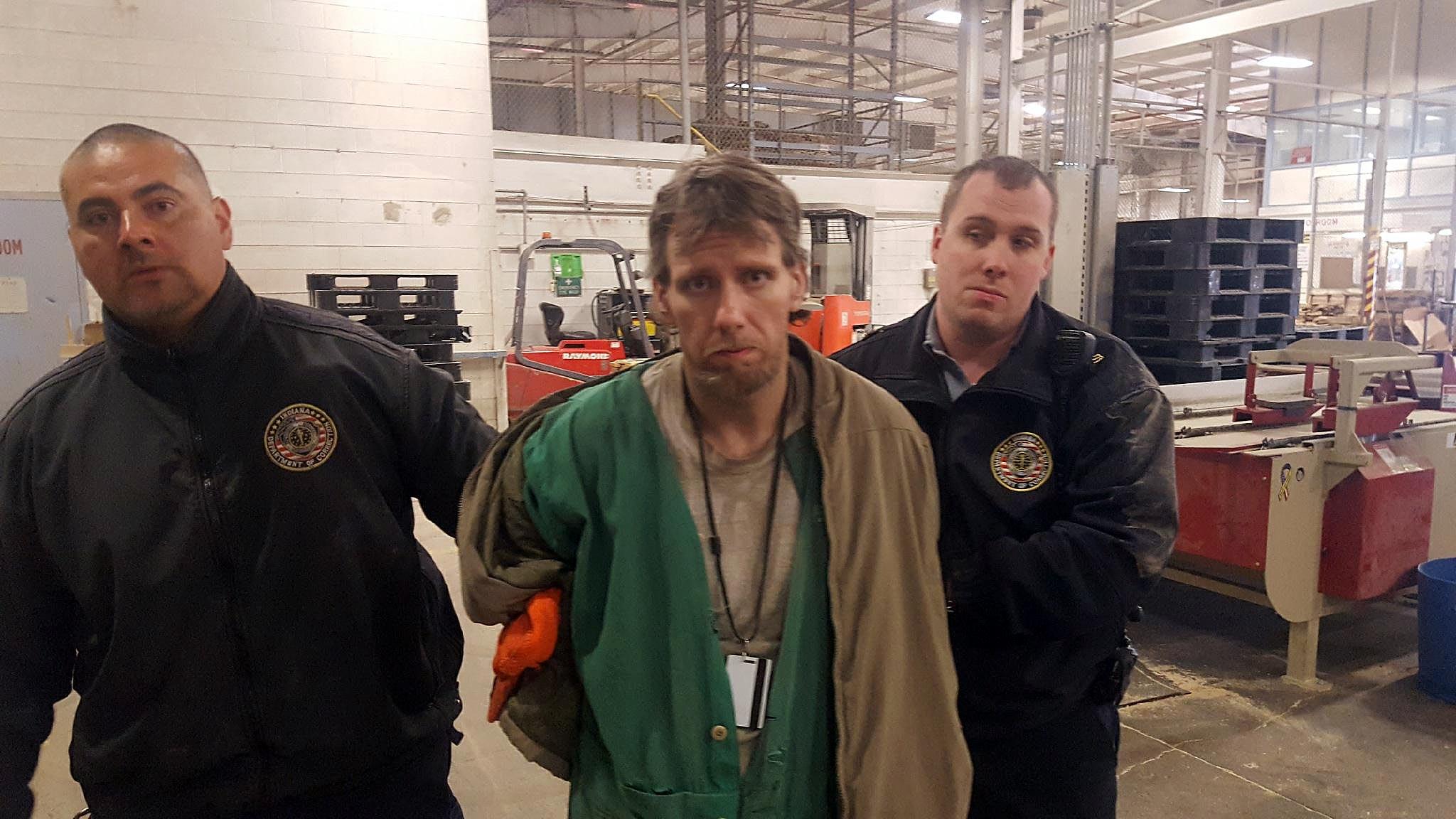Photo courtesy: Indiana Department of Correction - Facebook