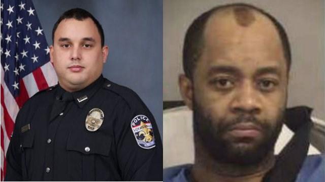 Fallen LMPD Officer Nick Rodman and Wathaniel Woods