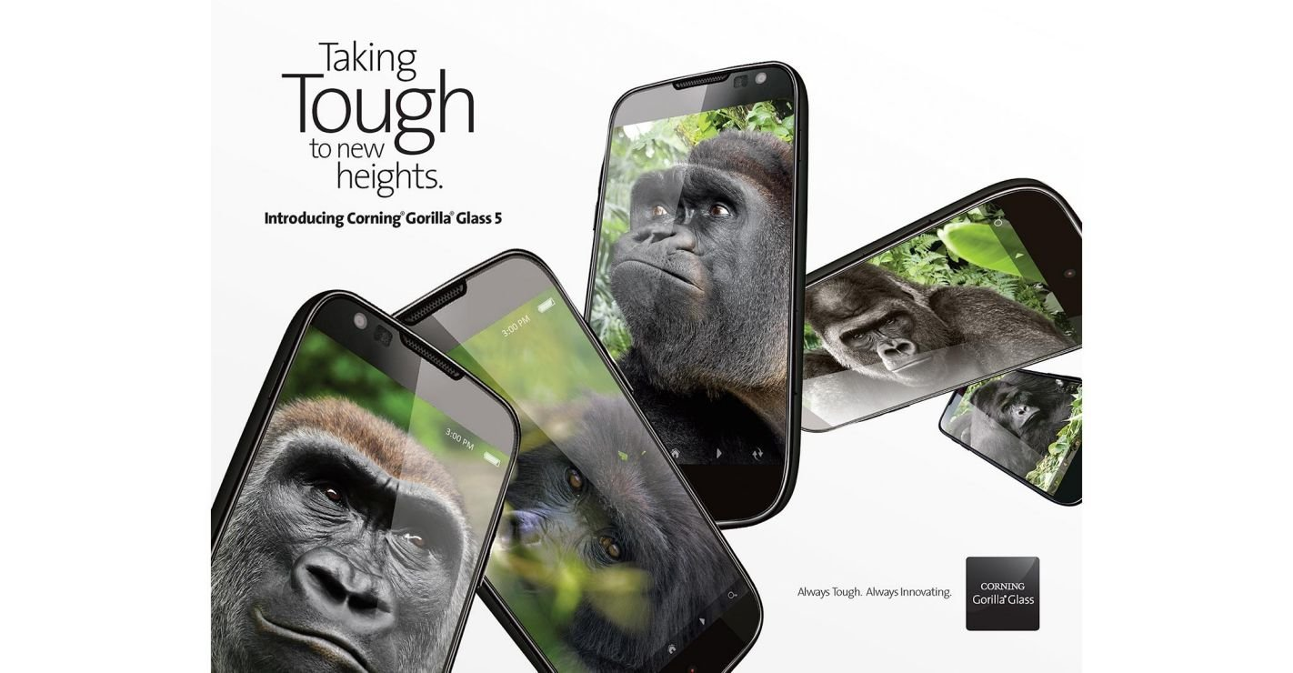 Gorilla Glass (courtesy of Corning, Inc.)