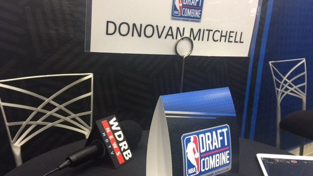 Former Louisville guard Donovan Mitchell has helped his NBA Draft status in Chicago.