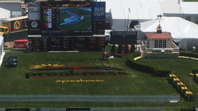 At Pimlico, the talk is Kentucky Derby, Triple Crown and the future of Pimlico.