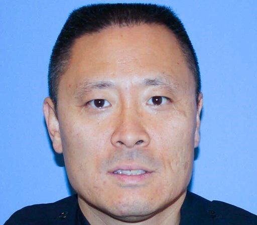 (Cincinnati Police Department via AP). FILE - In this undated file photo provided by the Cincinnati Police Department shows Officer Sonny Kim. Cincinnati Mayor John Cranley tearfully apologized, Thursday, May 18, 2017, to the city's police officers.