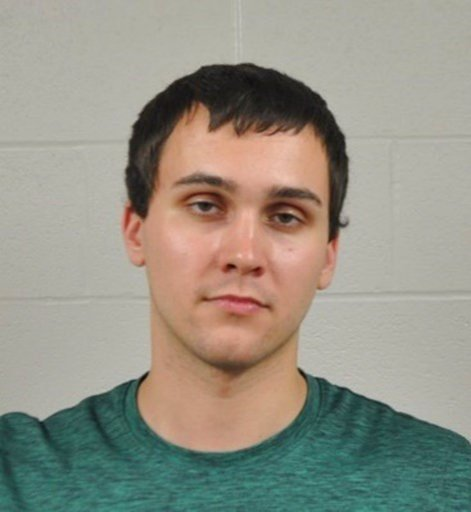 (University of Maryland Police Department via AP). This photo released by the University of Maryland Police Department shows Sean Urbanski. Urbanski was charged Sunday, May 21, 2017, with fatally stabbing a visiting student on campus.