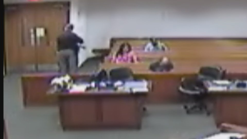Video showsLiana Hibbard fidgeting and playing with her hair in courtroom video earlier this month, and District Court Judge Stephanie Burke knew something wasn't right.