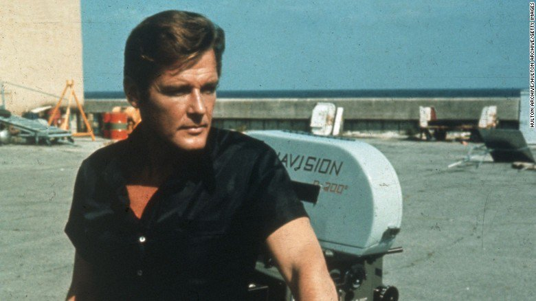 Roger Moore (Source: CNN)