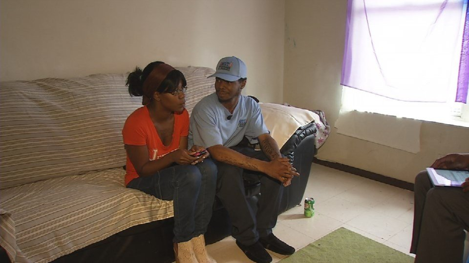 Five years ago, Deraldo Hall was 18with no high school diploma and the first of five children on the way.