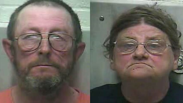 Loyd and Lora Sadler (Source: LaRue County Detention Center)