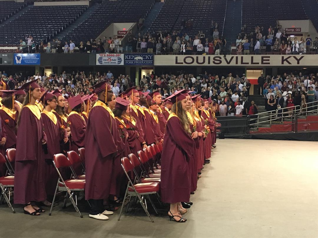Atherton High School graduation on Thursday, May 25, 2017