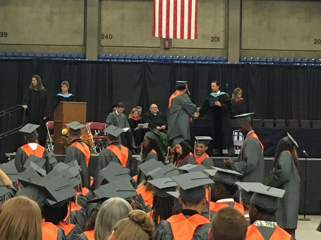 Fern Creek High School graduation on Friday, May 26, 2017