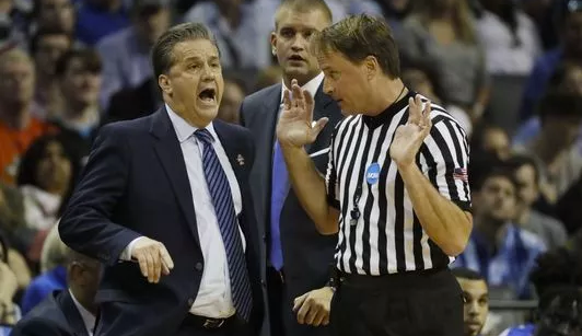 7 people ID'd for threats to NCAA ref after Kentucky loss