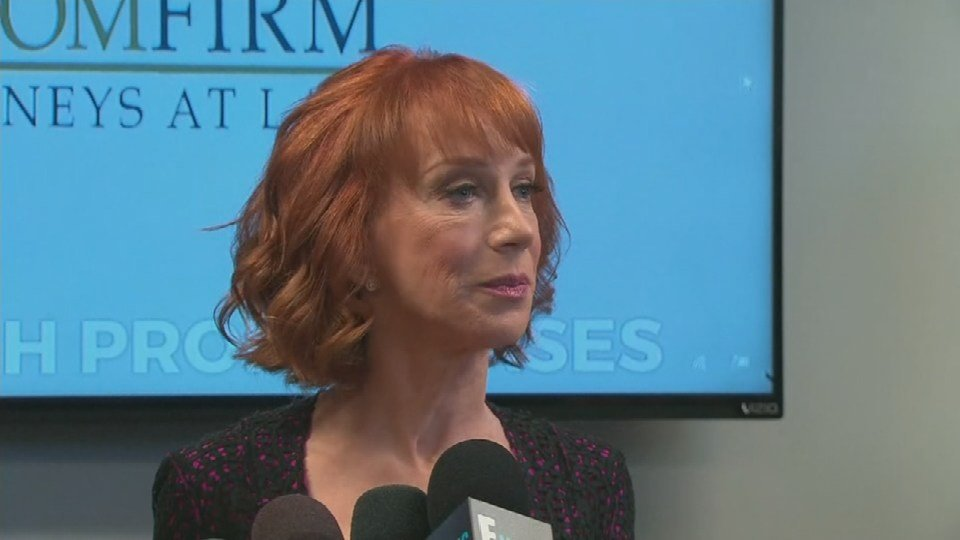 A Defiant Kathy Griffin Vows To Continue Criticizing Trump