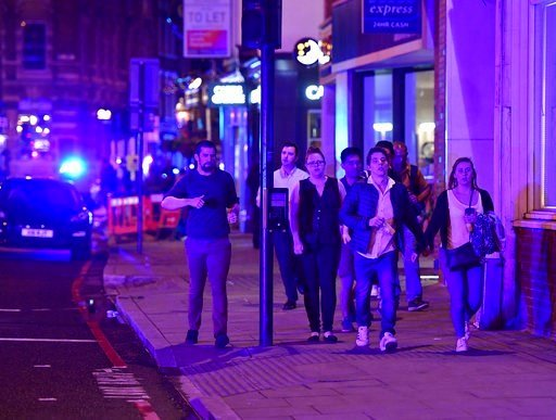 Police respond to terror attacks on London Bridge, nearby market