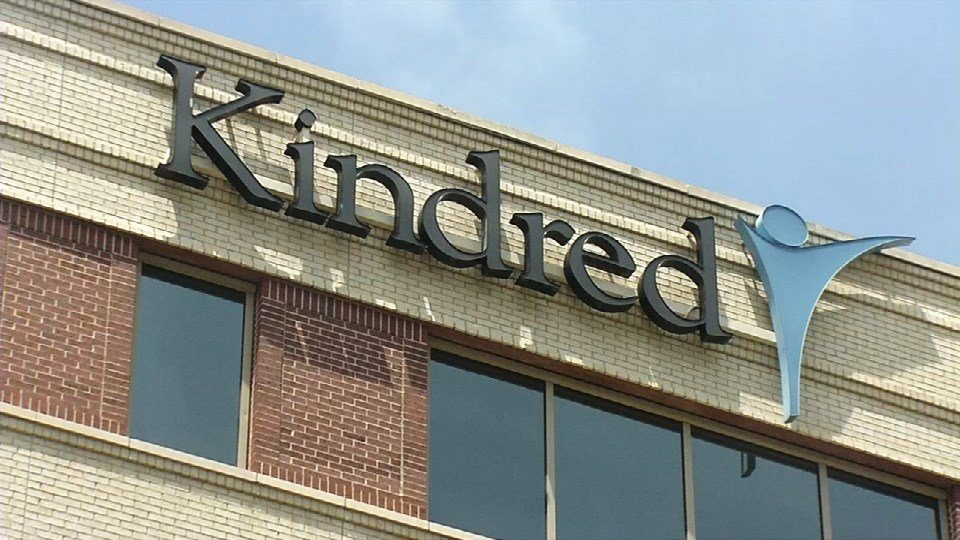 Kindred Healthcare's corporate headquarters in downtown Louisville