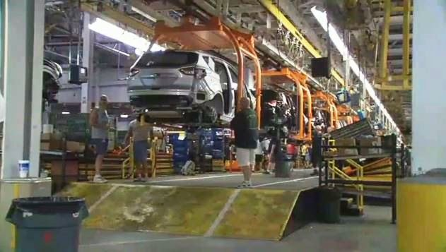 The Ford Escape SUV is made at Louisville Assembly Plant off Fern Valley Road.
