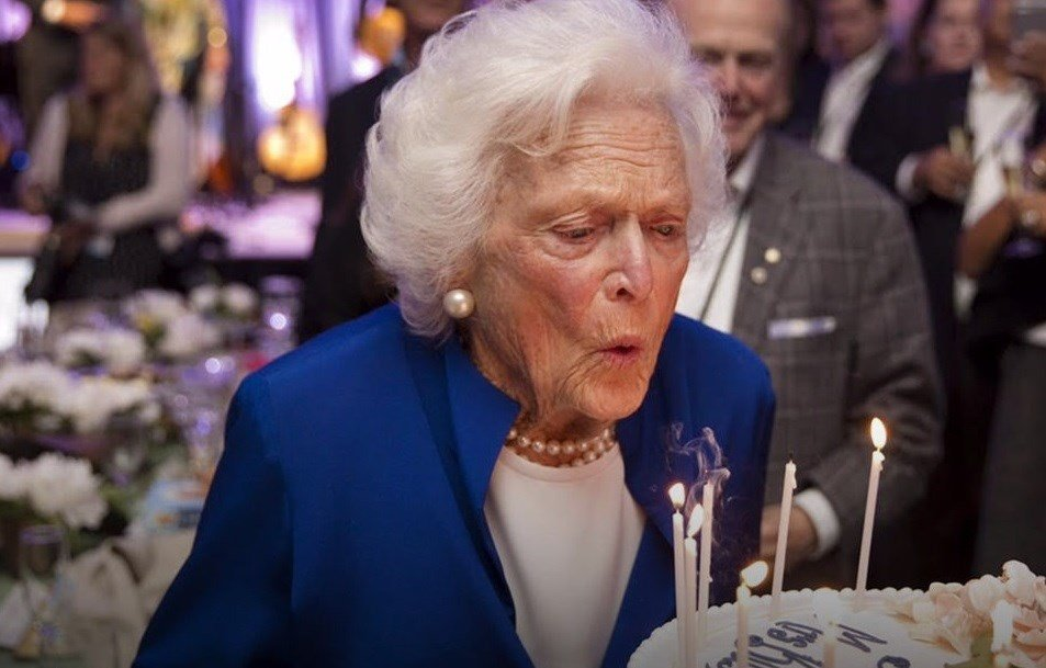Former first lady Barbara Bush celebrates 92nd birthday
