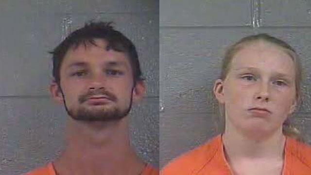 Brandon Meyer and Amber Sickles (Source: Bullitt County Detention Center)