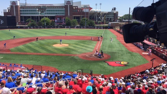 Louisville pitcher Kade McClure got the win as the Cards defeated Kentucky, 5-1, Friday.