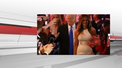 Melania, Barron Trump move into White House