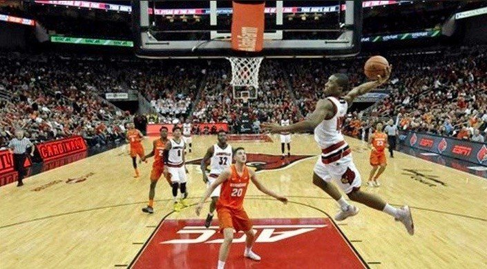 Plays like this figure to push former Louisville guard Donovan Mitchell into the NBA Draft Lottery Thursday night.