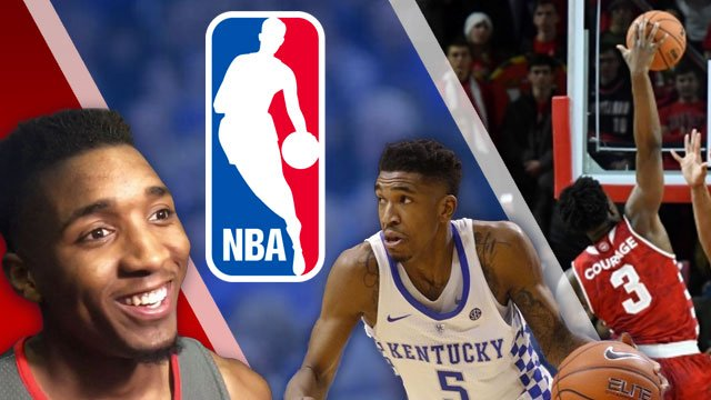 Louisville's Donovan Mitchell, Malik Monk of Kentucky and Indiana's OG Anunoby were three of the five local players taken in the first round of the NBA Draft.