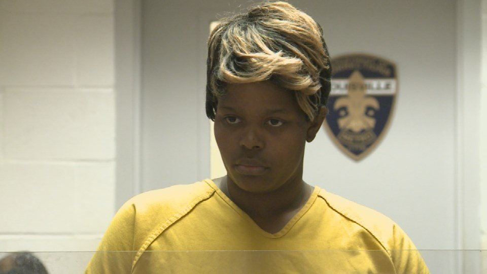 Shaleta Harris during a court appearance on June 26, 2017.