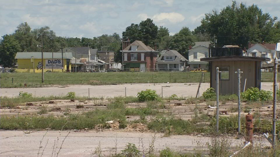 This vacant property at 28th and Muhammad Ali has been an eyesore for years.