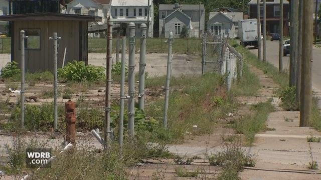 The city is considering proposals from four groups to develop this vacant lot at 28th and Muhammad Ali.