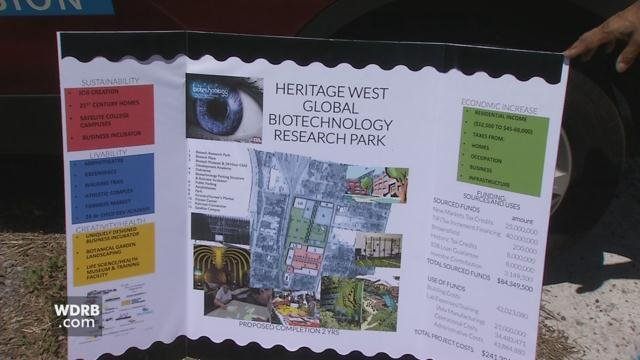 Four organizations submitted proposals to develop Heritage West at 28th & Muhammad Ali in Louisville.