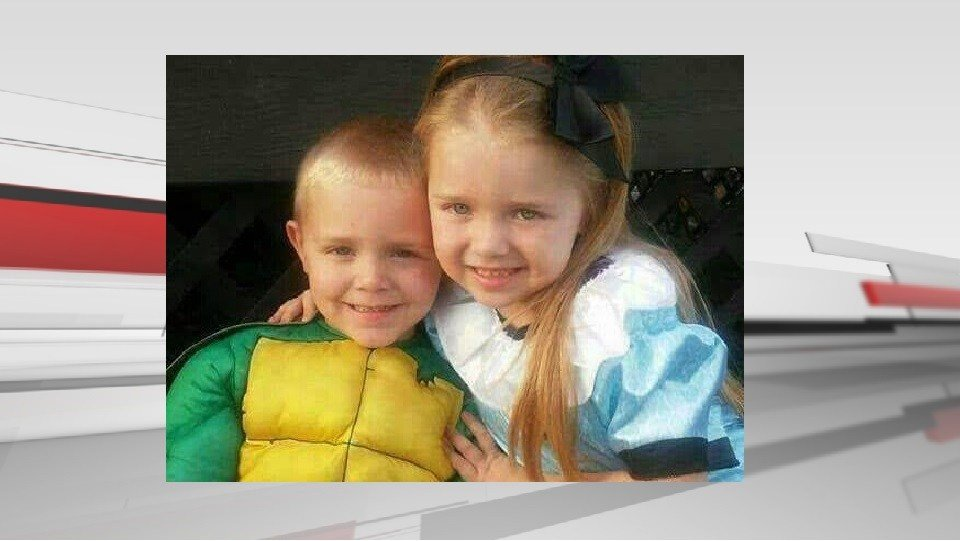 Adeline Fouch and Wyatt Fouch died when the SUV they were riding in was hit by a train in Henryville on June 29, 2017.