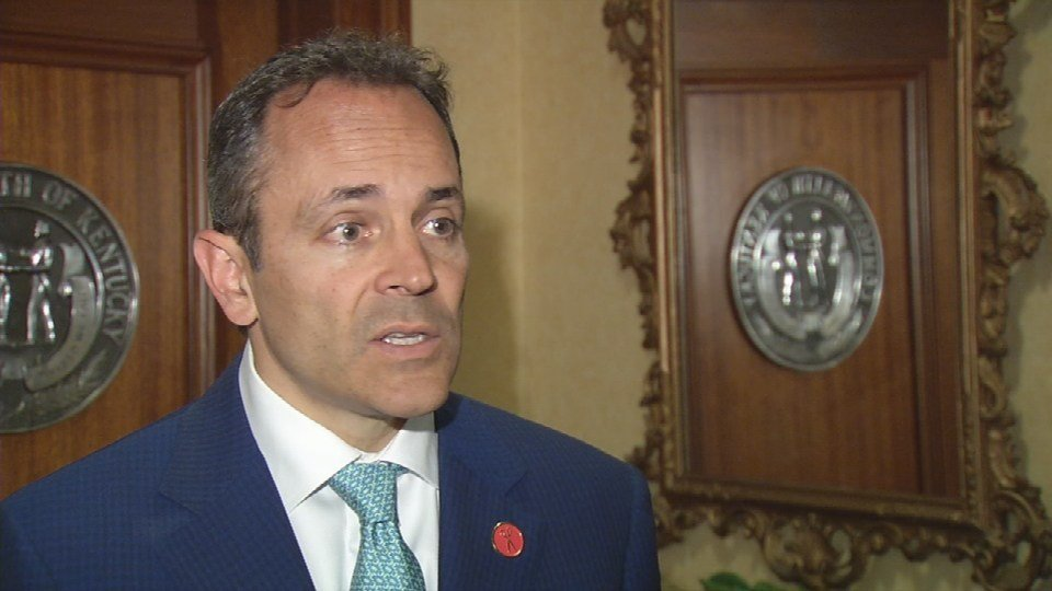 Kentucky Gov. Matt Bevin, May 26, 2017