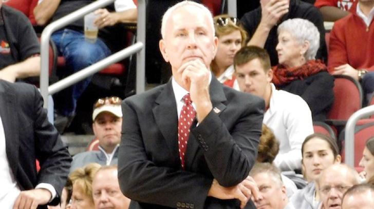 Bellmarine men's basketball coach Scott Davenport