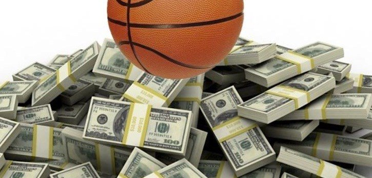 They're handing out money like Halloween candy in today's NBA. (Photo by NBAfcpradio.com)