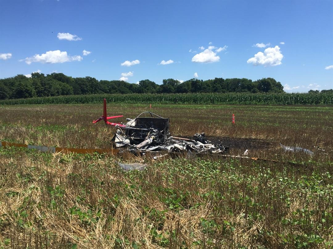 Indiana State Police investigating helicopter crash in Dubois County