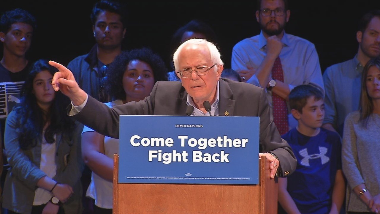 Sanders Stops In Kentucky, Pushes 'Care Not Cuts'