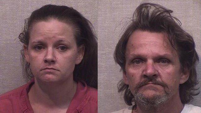 Brittany Stafford and James Stafford (Source: Jackson County Detention Center)