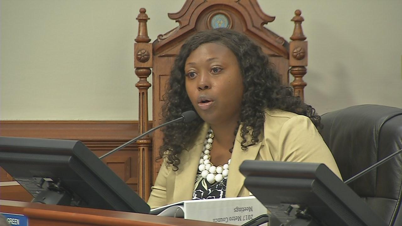 Louisville Metro Councilwoman Jessica Green