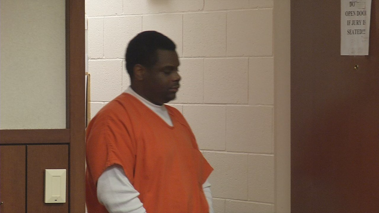 Kenneth Pope appears in court to accept a plea deal from a 2015 murder case.