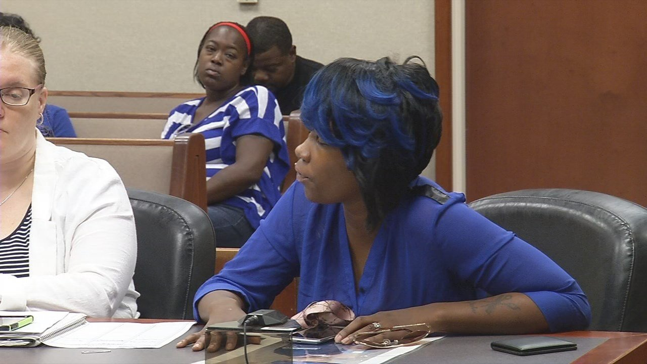 Kyiesha Jones offered words of forgiveness to the man who pleaded guilty to killing her brother in July of 2015.