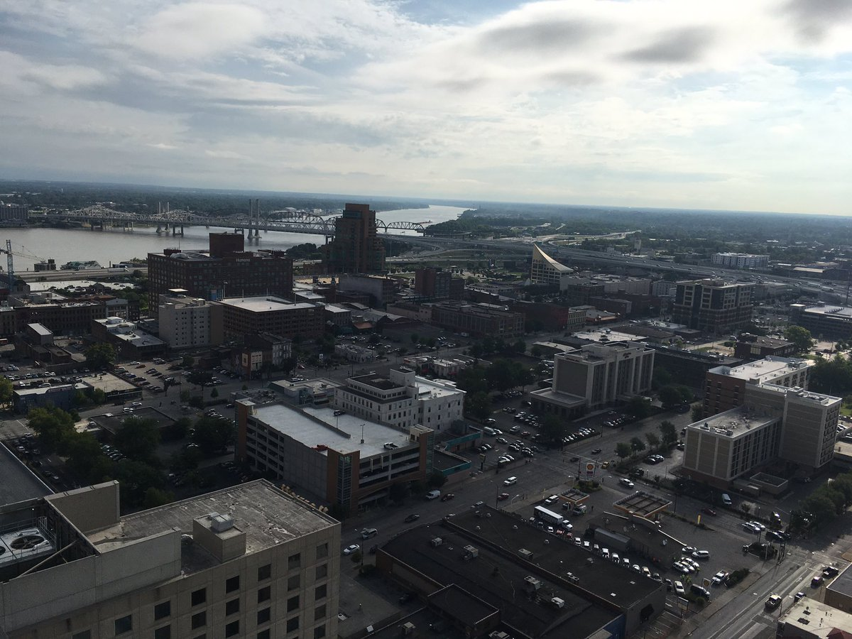 Omni Louisville' s spectacular view