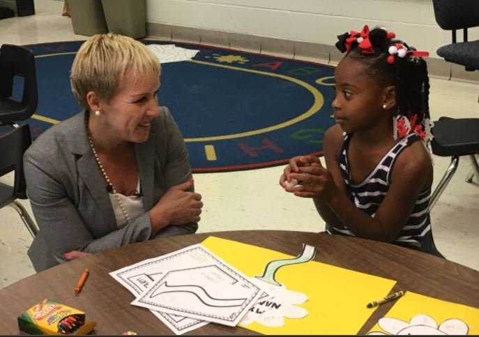 Carmen Coleman, the district's new chief academic officer is considering an expert in the area of deeper learning strategies. (Photo by Toni Konz, WDRB News)