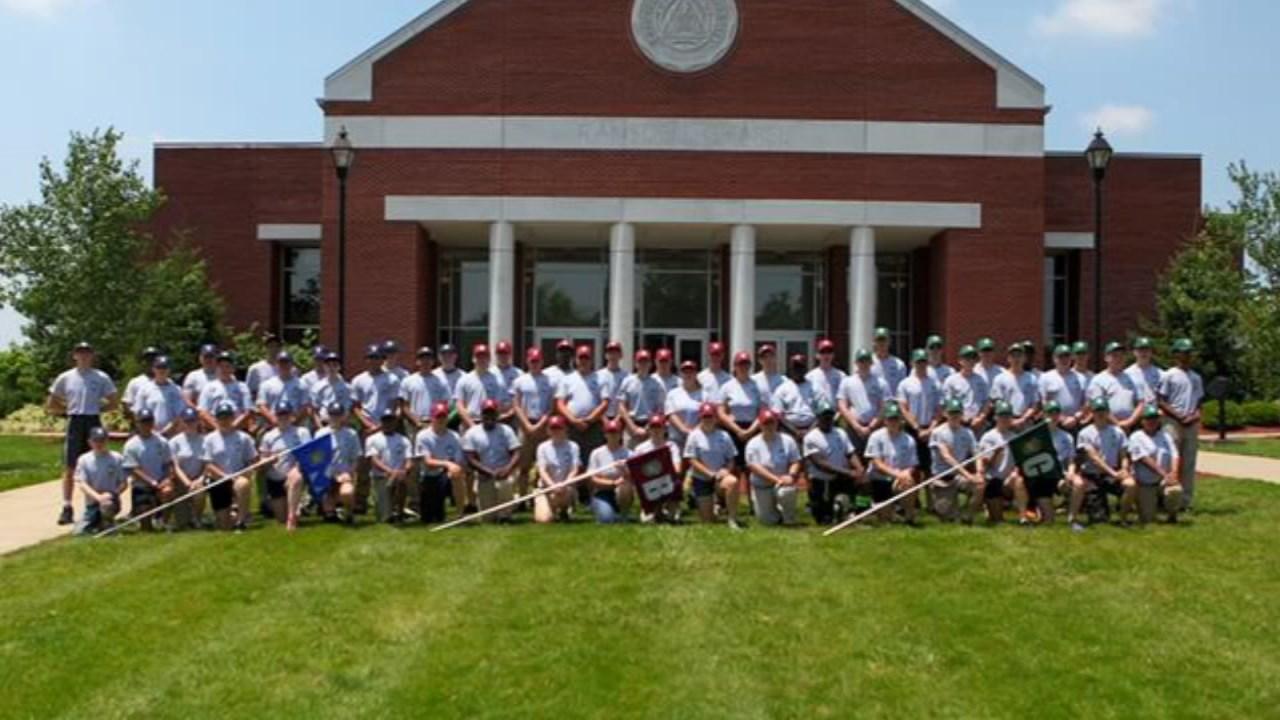 Members of the LMPD Explorer Program