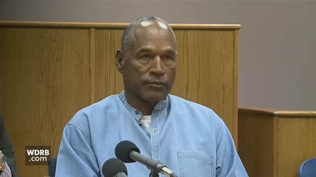 O. J. Simpson at parole hearing