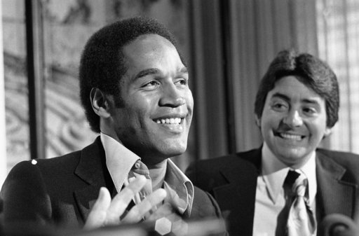 O.J. Simpson from his days in the NFL