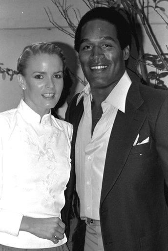 O.J. and Nicole Brown Simpson