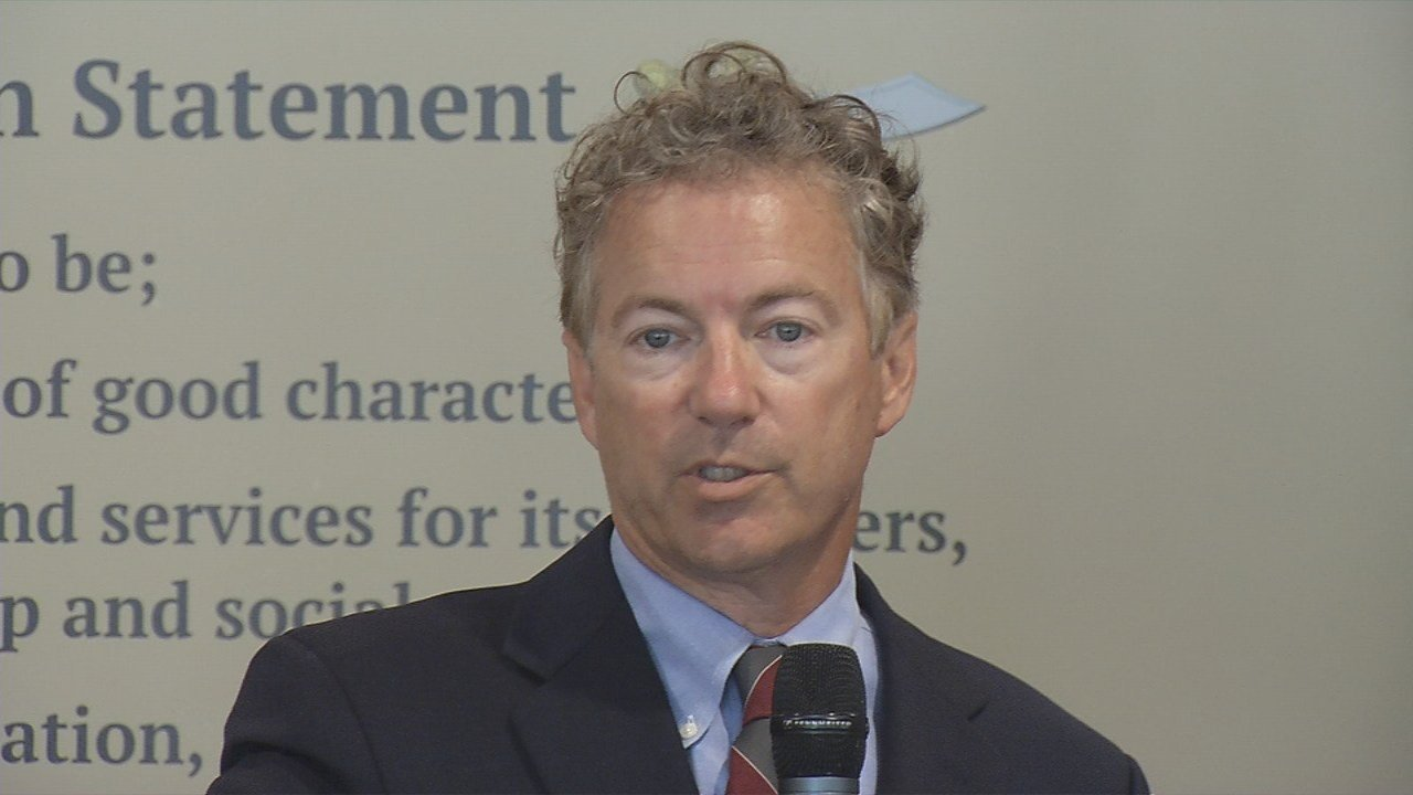 Sen. Rand Paul speaks to Suburban Rotary Club